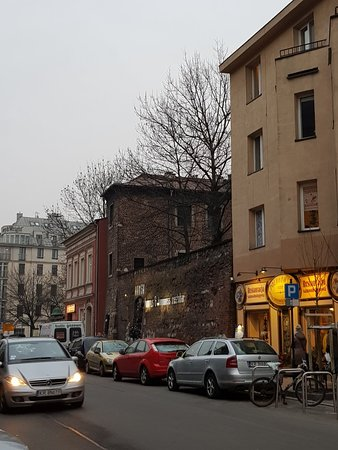 Eclectic area of Krakow
