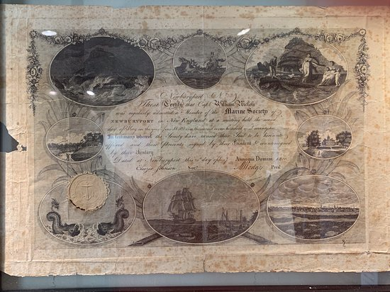Custom House Maritime Museum: 1810