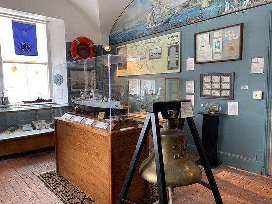 Custom House Maritime Museum: ground floor