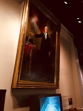 Painting of Washington