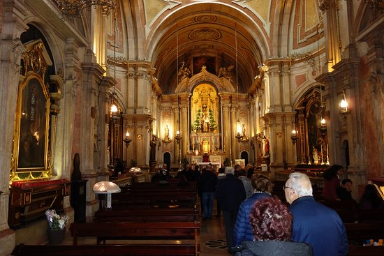 Igreja de Santo Antonio: Nave