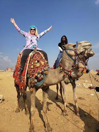 Full Day Tour in Giza Sakkara and Memphis From Cairo: Camel Ride