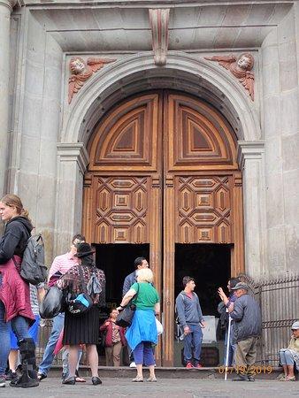 doors at entry