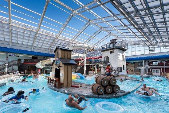 Indoor Water Park Picture Of Hartford Hotel Conference Center East Hartford Tripadvisor