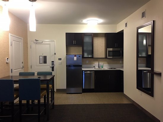 Kitchen area of the room - Picture of Residence Inn Long ...