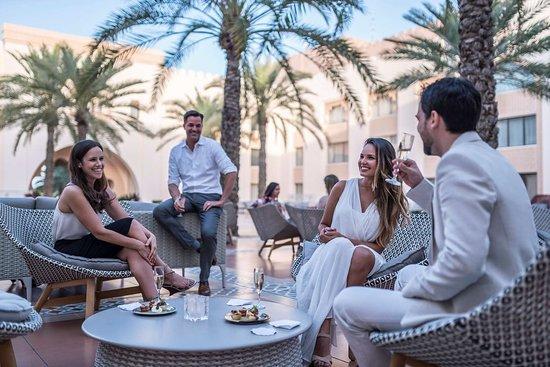 Courtyard Pre-Dinner Cocktails