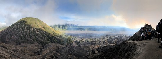 bromo after sunrise