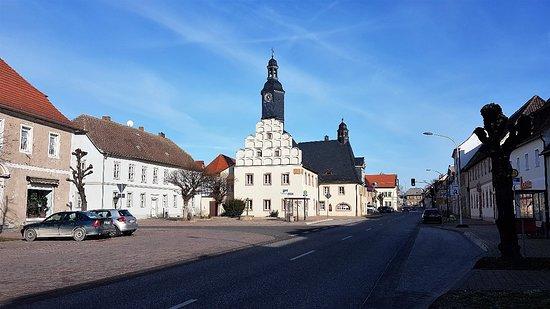 Alte Rathaus und St. Johannis Baptist Kirche