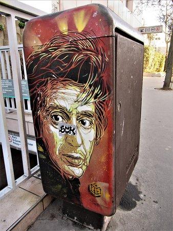 "Fresque ""Al Pacino"""