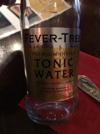 Tonic en van de vele smaken...
