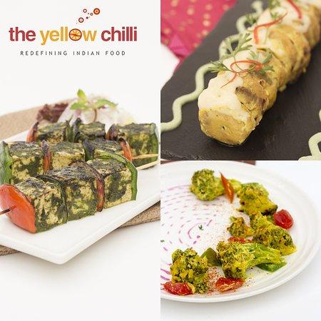 """Hare Masale Ka Bhune Paneer, Shabnam ke Moti, Sarson ke phool and many more. Have you tried these starters from our menu?  #Foodie"""