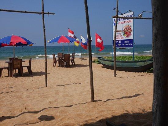 Egen strand, inte många här