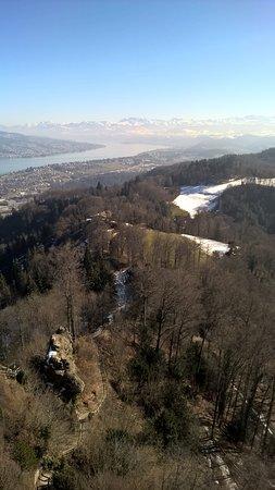 Uetliberg Mountain: view towards south