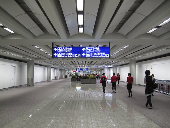 Hong Kong Intl Airport: Hong Kong International Airport (HKG,), Photo Credit: Shadi Alkasim