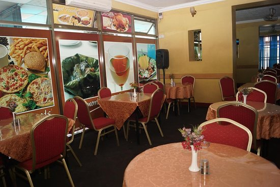 JBK Hotel's Jaqie's Restaurant  and Bar. Our menu offers both local and continental dishes and a wide variety of beers , wines and spirits in our well stocked bar.