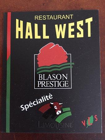 Hall West Carte De Visite