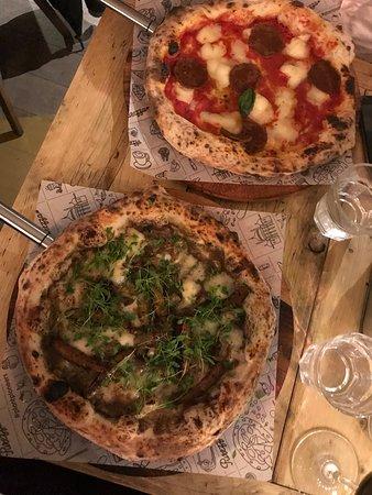 Vegan Mushroom Pizza Vegan Peperoni Pizza Picture Of
