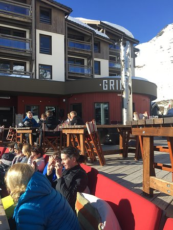 Perfect post ski drinks spot