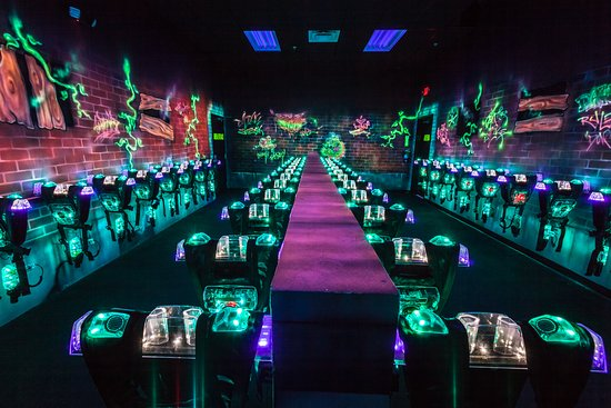 Brunswick, OH: 42 vests await your arrival in our 2 story laser tag arena!  Get ready for some fun!