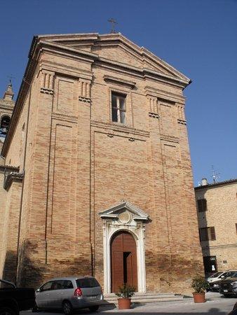 Belvedere Ostrense, Italy: Chiesa di San Pietro