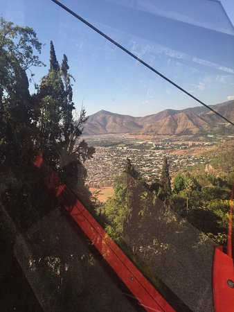 View from Cerro San Cristobal Cable Ride