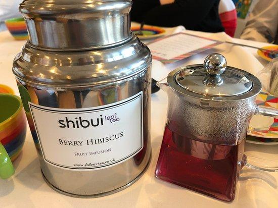 Tea At Rainbows: Another popular Loose Leaf Tea - Berry Hibiscus