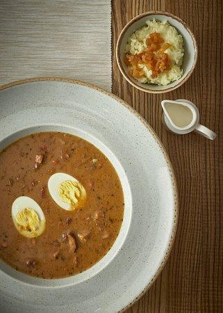 zupa zurek z borowikami