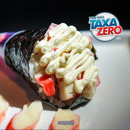 Nos conheça pela redes sociais @sanseitemakeria e ao passar pelas nossas fotos escolha qual das nossas delicias você vai querer provar. Estamos te esperando , venha logo, temos muito mais para lhe oferecer. Sansei Temakeria desde 2009 com o melhor da comida japonesa pra você.