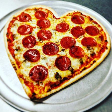 Dimaggio's Italian Pizza: Valentine's Day Pizzas!! 😍
