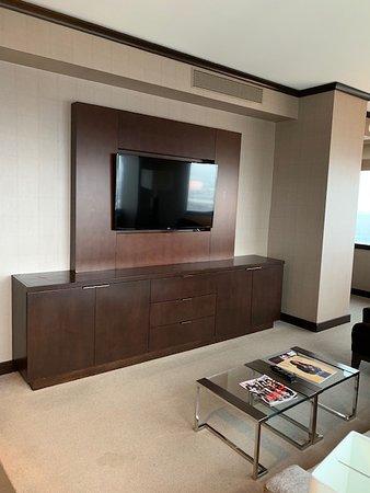 Vdara Hotel & Spa at ARIA Las Vegas: Living room