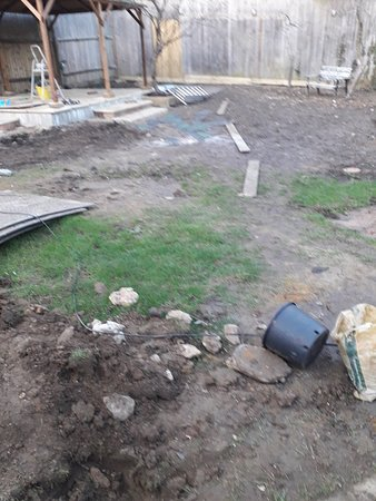 Work in progress on the Garden Extension, roll on the summer evenings