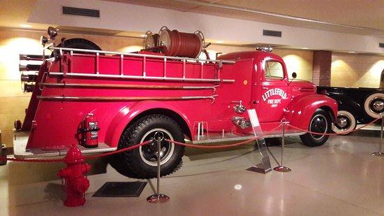Ural Ataman Classic Car Museum: The fire truck