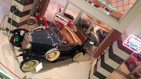 Ural Ataman Classic Car Museum: View from high level