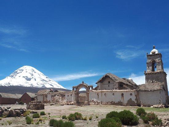 Sajama National Park, Bolivia: Pueblo en el Parque