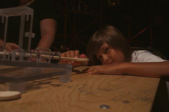 Le Bunker: Patience, précision, science!