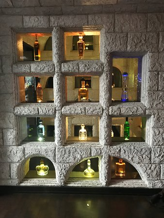 What a way to display tequila