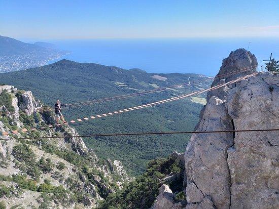 Ai Petri Suspension Bridge