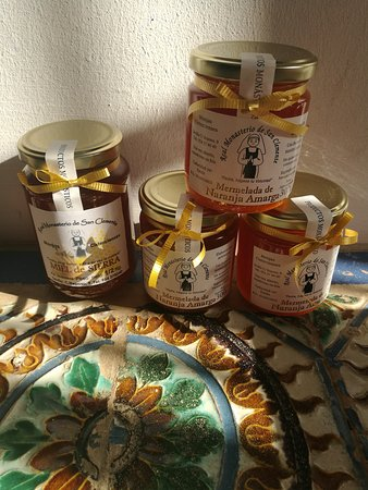 Convento de San Clemente: Miel y mermeladas