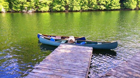 Algonquin Highlands, Kanada: Stewart's Pond - North Big Hawk Lake by Clear Lake Portage.