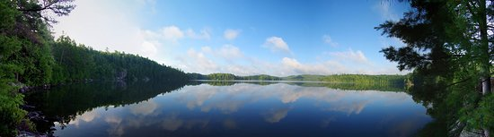 Algonquin Highlands, Kanada: North Clear Lake looking south