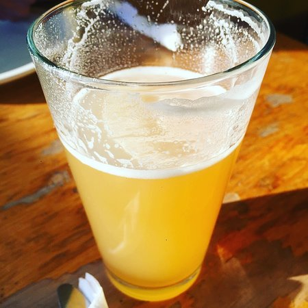West Glover, VT : Pint of Hill Farmstead beer