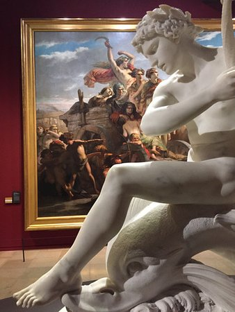 Musee d'Orsay - sculpture and artwork