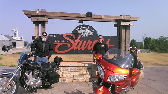 The Sturgis welcome sign  - Picture of Sturgis Motorcycle Rally