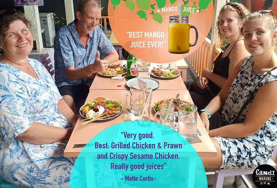 We are happy that you enjoyed the meals & the juices as well! Thank you so much, Mr. Cortis For Delivery Call/WA : +62 821-4656-3830 or Visit us  https://goo.gl/maps/7GZSoU4XmY52