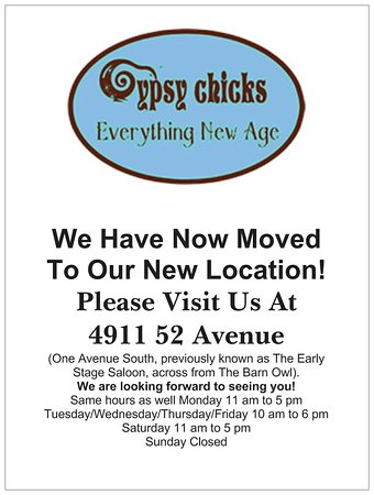 New Location as of February 19th, 2019! Please come visit us at 4911 52 Avenue Stony Plain, Alberta T7Z 1C4.