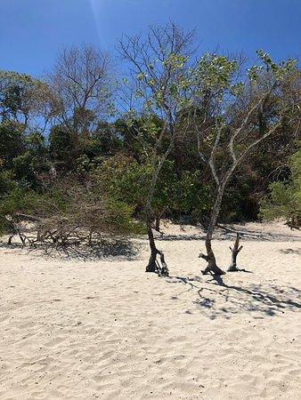 Très sympa sable fin eaux turquoises !