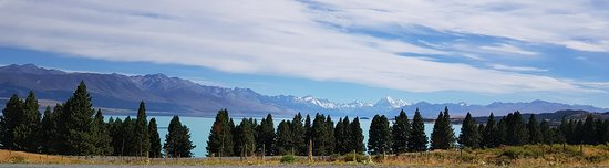 Canterbury, New Zealand: views as we were driving along