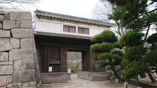 Wakayama Castle Okaguchi Gate