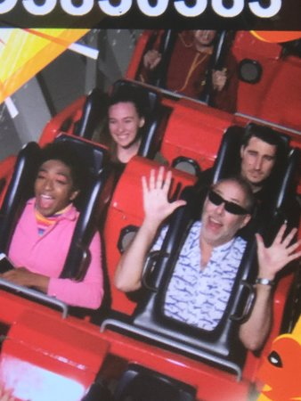 Incredicoaster at Disney's California Adventure