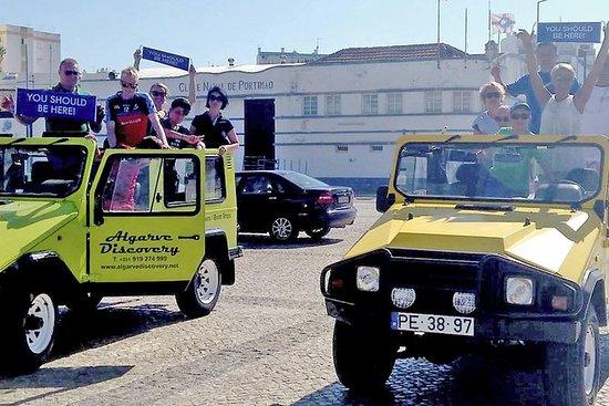 Algarve Coast Jeep tur fra Portimao